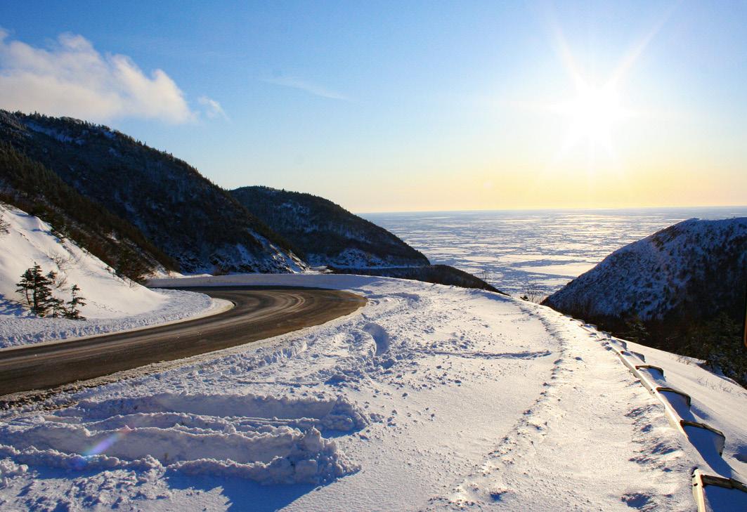 Cabot Trail im Winter