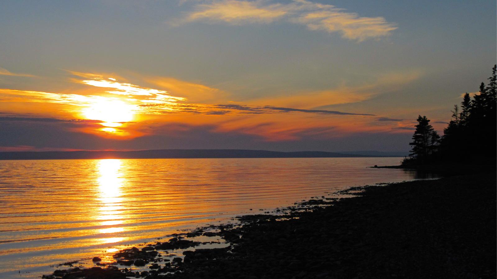 Sonnenaufgang auf Cape Breton