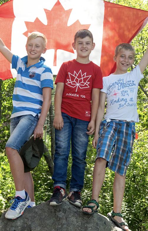 """Canada Day"" an jedem 1. Juli"