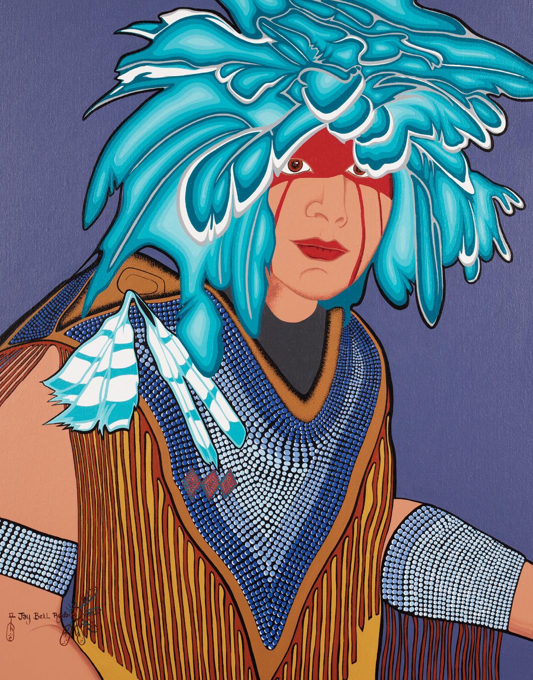 Jay Bell Redbird: Mother Earth Dancer