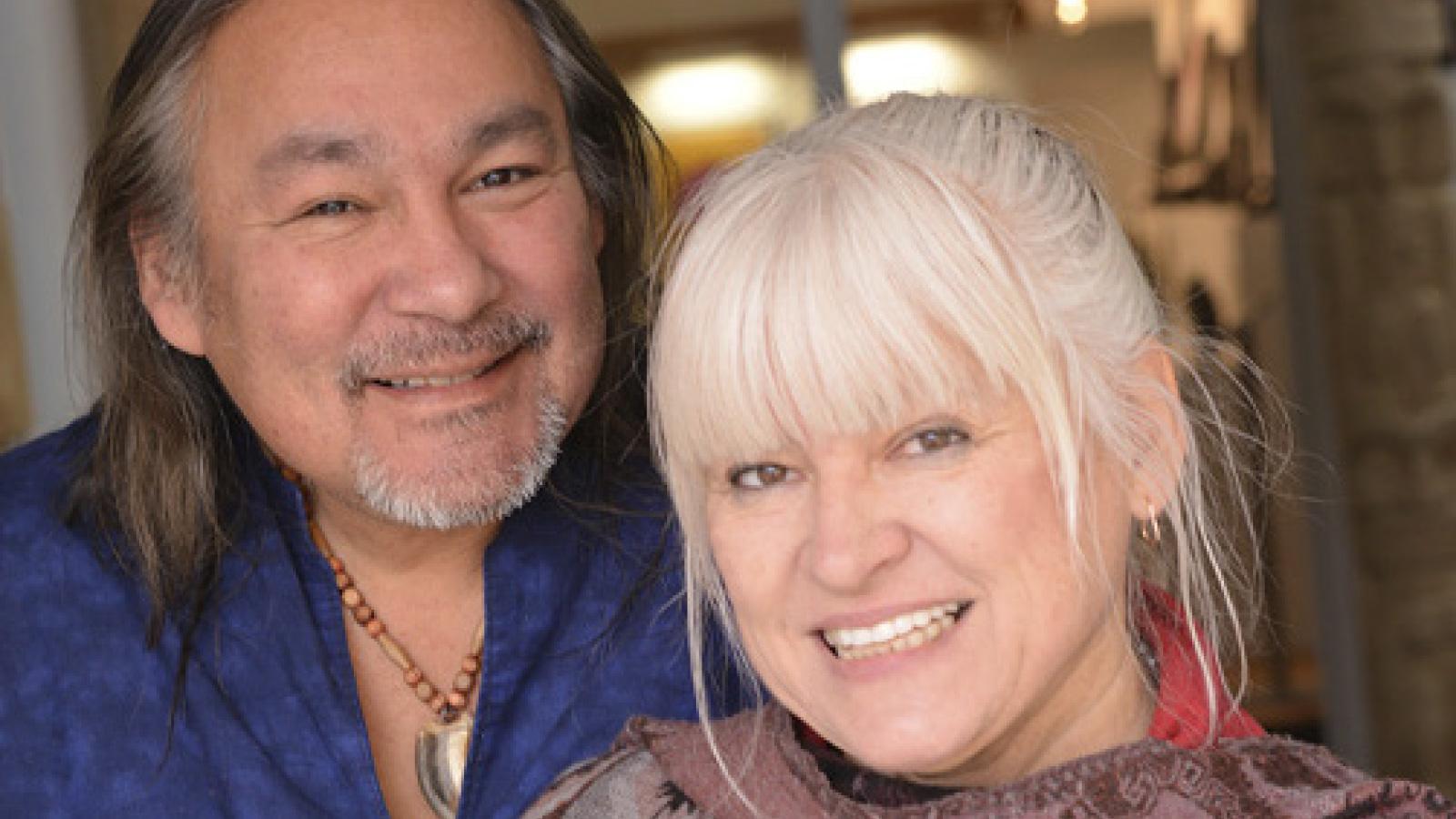 Jay und seine Lebensgefährtin Halina Stopyra