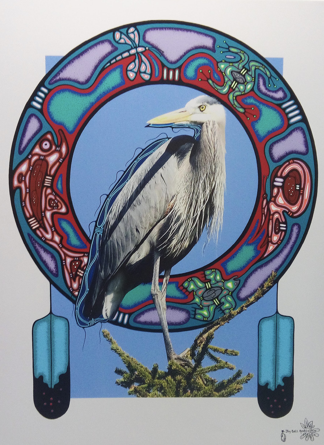 Jay Bell Redbird & Rolf Bouman: Spirit Bird