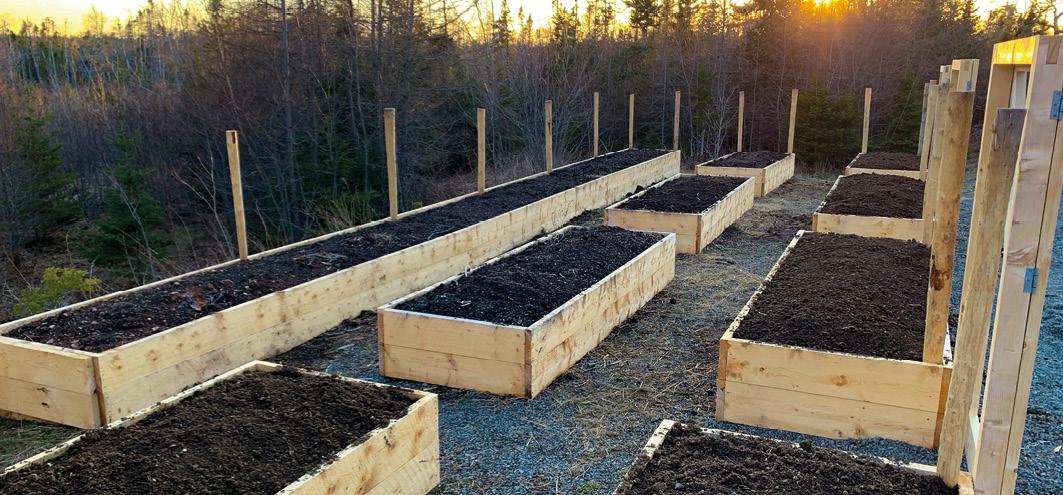 Hochbeete in Nova Scotia