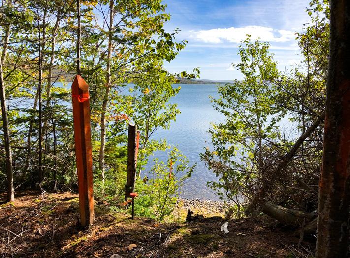 Vermessungsgrenze bei Ufergrundstücken von Canadian Pioneer Estates Ltd.