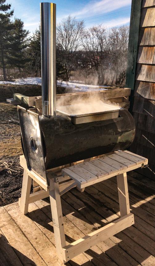 Einkochen des Saftes zu Sirup