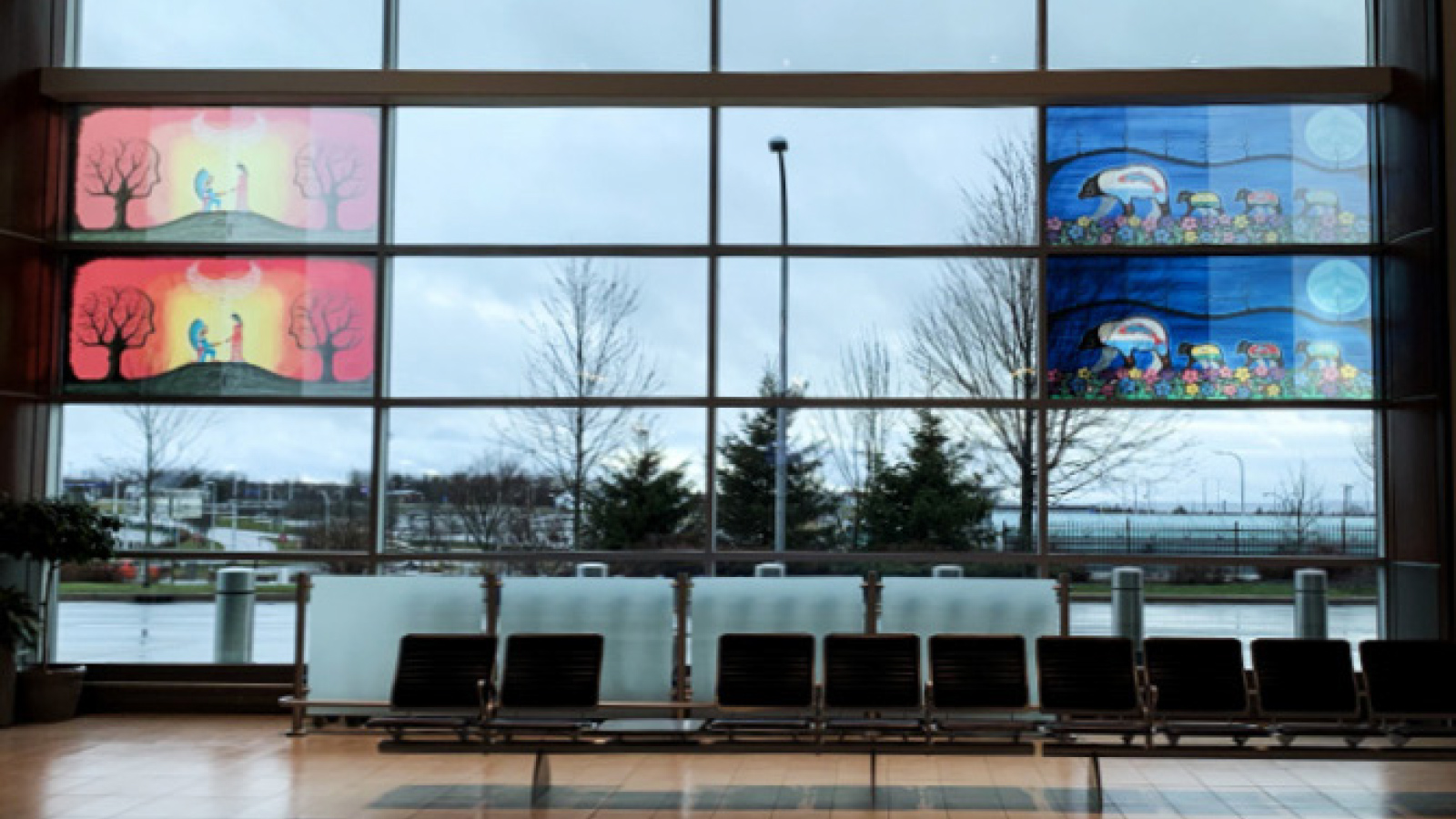 Mehr indigene Kunst am Halifax Stanfield International Airport