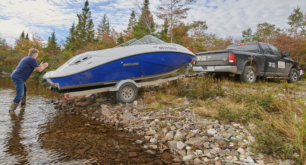 Mit dem Boot auf Erkundungstour durch Cape Breton (Nova Scotia/Kanada)