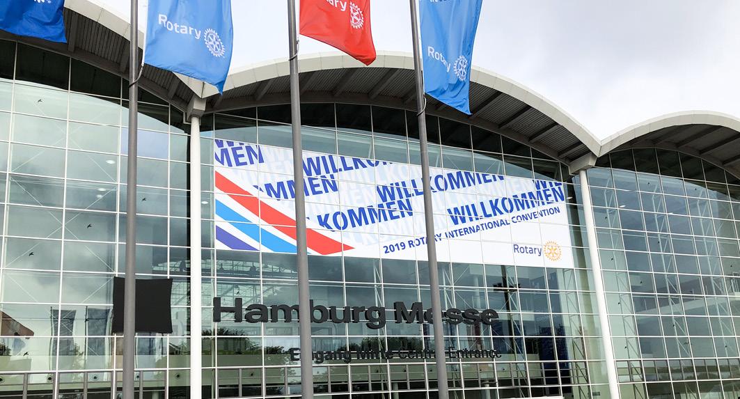 Die Hamburger Messehallen