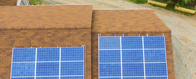 Solaranlage auf Cape Breton (Nova Scotia / Kanada)