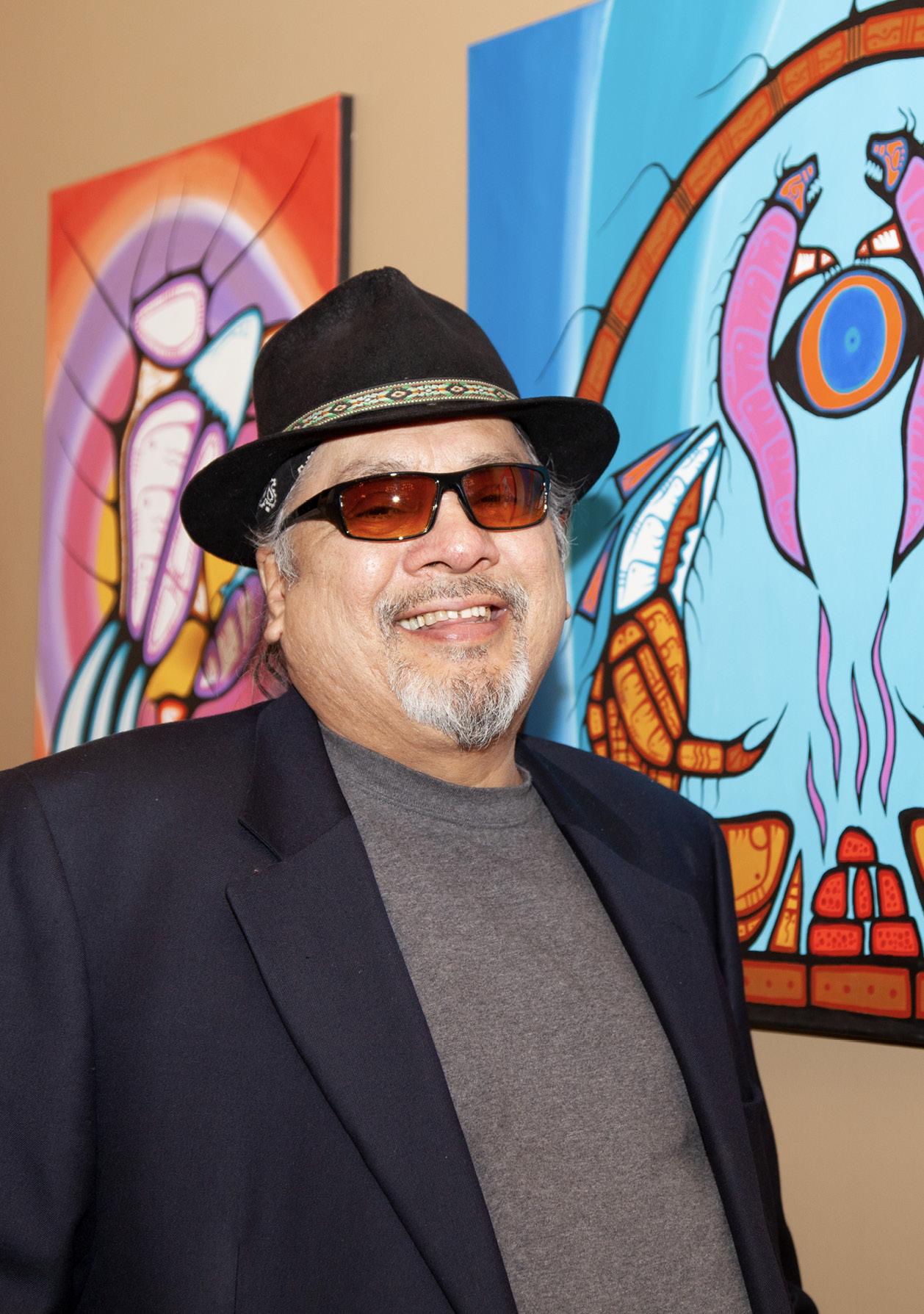 Künstler David Brooks - Indianische Kunst aus Kanada