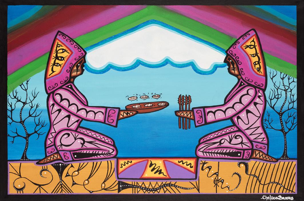 Chelsea Brooks: Games - Indianische Kunst aus Kanada