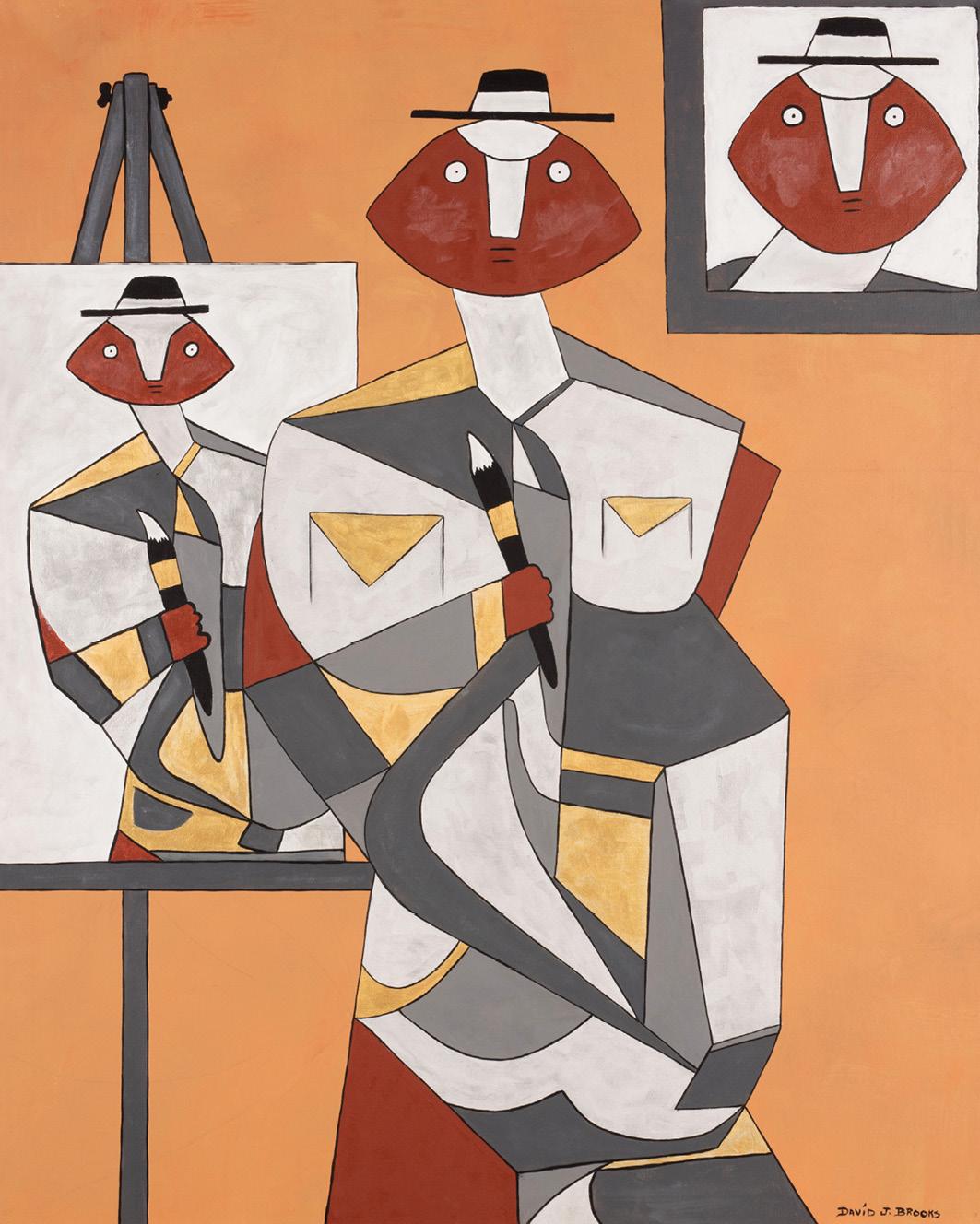 David Brooks: Artist's Portrait - Indianische Kunst aus Kanada