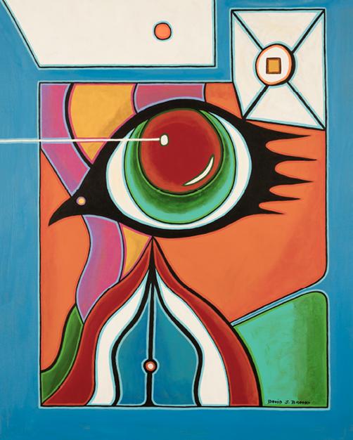 David Brooks: Bird's Eye - Indianische Kunst aus Kanada