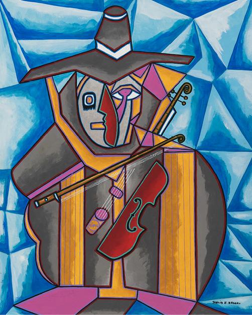 David Brooks: Fiddler On The Hoof - Indianische Kunst aus Kanada
