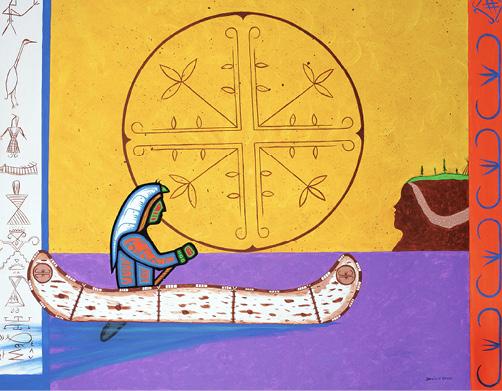 David Brooks: Spiritual World of the Mi'kmaq - Indianische Kunst aus Kanada