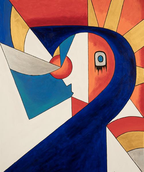 David Brooks: Man - Indianische Kunst aus Kanada