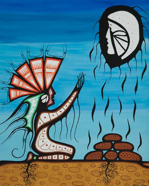 David Brooks: Prayer - Indianische Kunst aus Kanada