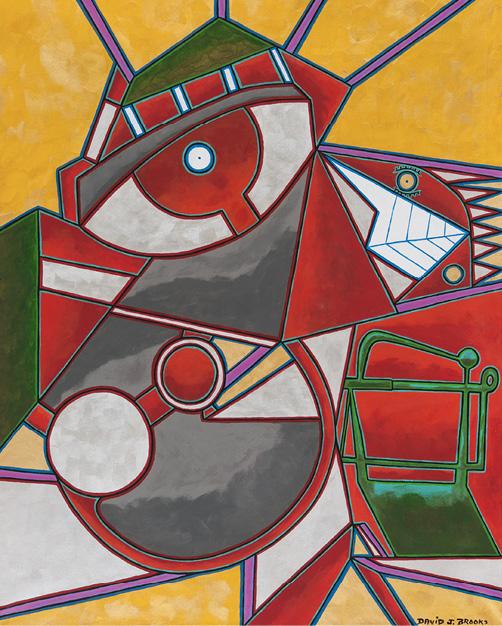 David Brooks: Abstract Man - Indianische Kunst aus Kanada