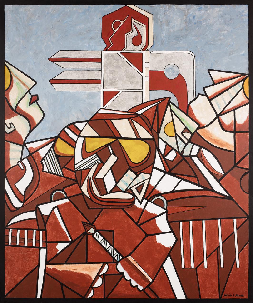 David Brooks: Tribute to past Artist - Indianische Kunst aus Kanada